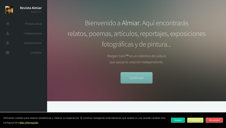 Almiar Magazine website